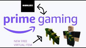 ROBLOX AND PRIME GAMING ITEM OUT NOW - YouTube