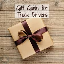 gifts for the truck driver