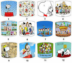 Lampshades Ideal To Match Peanuts Snoopy Wall Decals Peanuts Snoopy Duvets Ebay