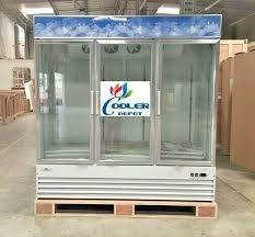 glass door refrigerator cooler