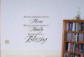 Home Family Blessing Wall Decals Trading Phrases