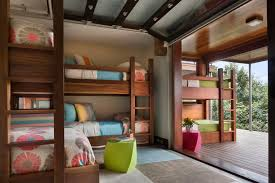 Multicolored Contemporary Kids Room With Bunk Beds Hgtv