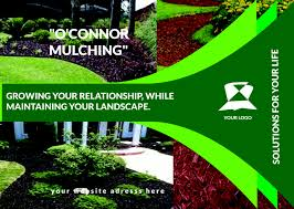 sharminporag for landscaping flyer