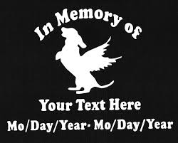 Dog Angel In Memory Of Auto Window Decal 6x8 White Dog Angel Memories Dog Memorial