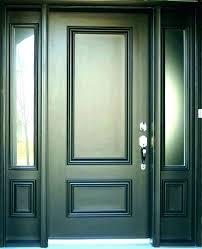 replacement glass front door