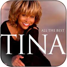 Tina Turner All The Best Album Cover Sticker