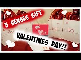 diy 5 senses gift for valentines for