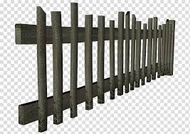 Fences Ornament Gray Wooden Fence Transparent Background Png Clipart Hiclipart