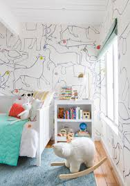 Charlie S Big Kid Room Styled To Sell Get The Look Emily Henderson Kid Room Style Big Kids Room Kids Bedroom Wallpaper