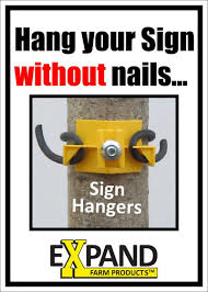 Hang Your Sign Without Nails Bottle Opener Wall Electric Fence Hanging