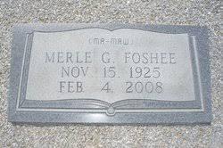 Merle Gibson Foshee (1925-2008) - Find A Grave Memorial