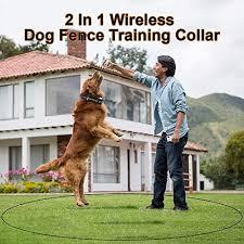 Karotezh 2 In 1 Wireless Dog Fence Train Buy Online In Belize At Desertcart