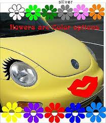 Large Red Lip Decal Any Car Bumper Window Hood Kiss Face Sticker Vw Bug Pt Usa Ebay