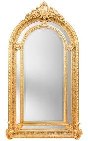 gilt baroque mirror in napoleon iii style
