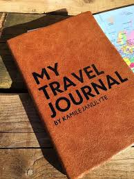 personalised travel journal 2020 diary