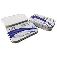 axp 01 cosmetic tins shiny tin box