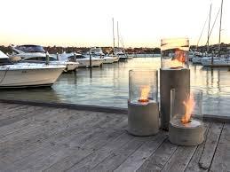 outdoor freestanding bioethanol