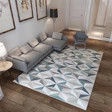 Nordic Geometric 3d Living Room Carpets Home Area Rugs For Bedroom Lar Kimia Living