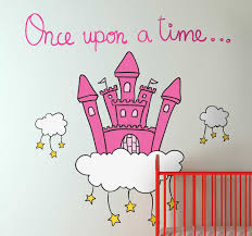 Once Upon A Time Castle Wall Decal Tenstickers