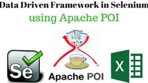 selenium webdriver using apache poi