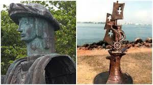 Error histórico en la controversial estatua de Colón, la más ...