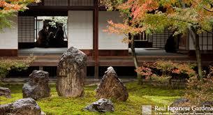 arrangement in the japanese garden