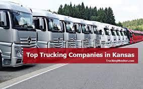 top 16 trucking panies in kansas