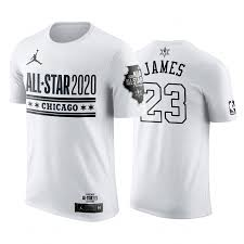 2020 NBA All-Star Game Los Angeles Lakers LeBron James White ...