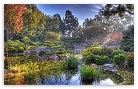 japanese garden hdr ultra hd desktop