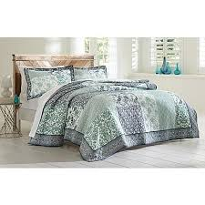 cannon 3 piece quilted bedding set