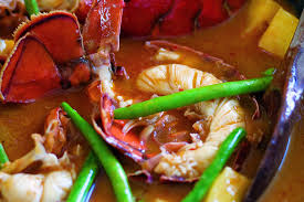 Red Curry of Lobster and Pineapple ...