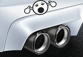 Oh No Face Too Loud Exhaust Funny Car Sticker Decal Gtti Gm