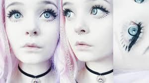 how to do eye makeup like a doll