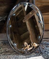 evergreen bird branch wall mirror zulily