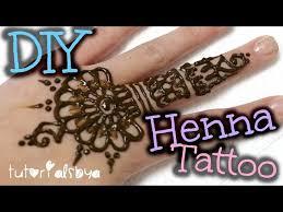 diy henna tattoo tutorial tips