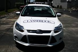 Miami Security Patrol Car Decal Lettering