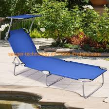 lounge chair relaxer bed with sun shade