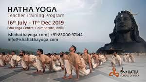 isha hatha yoga teacher