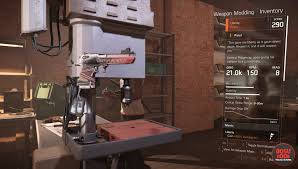 division 2 liberty exotic pistol