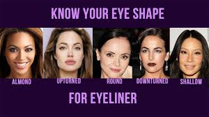 eyeliner looks for diffe eye shapes