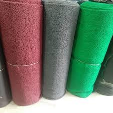 plain pvc door mat carpet packaging