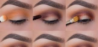 foiled sunset eye makeup tutorial