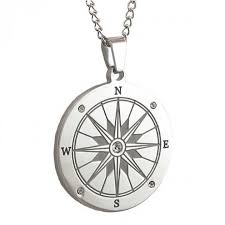 engravable stainless steel compass