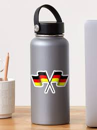Germany Flag German Racing Flags Car Auto Window Bumper Decal Sticker By Imagemonkey Redbubble