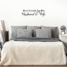 Best Friends For Life Husband And Wife 30 X 9 Cute Bedroom Deco Imprinted Designs