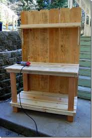 building our potting bench part ii