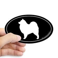 Cafepress Samoyed Oval Sticker Sticker Oval Walmart Com Walmart Com