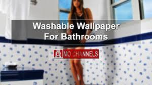 bathroom wallpaper washable wallpaper