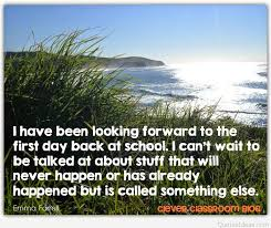 quotes first day of school