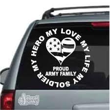 Love My Life My Soldier My Hero Car Decals Stickers Decal Junky